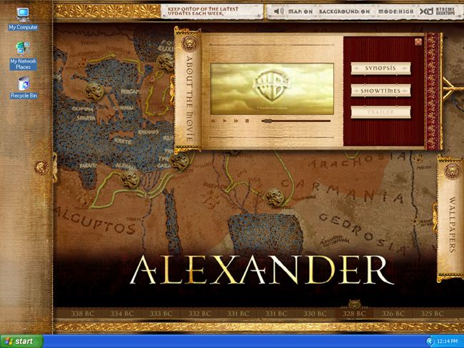alexander the great movie trailer