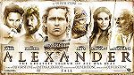 Official Alexander Theatrical Banner - Alexander starring Colin Farrell as Alexander The Great. Also starring Angelina Jolie as Olympias and Val Kilmer as King Philip. Alexander directed by Oliver Stone.